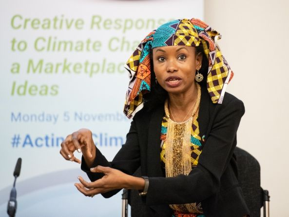 'Climate change impact is doubled if you are a woman and you are indigenous'
