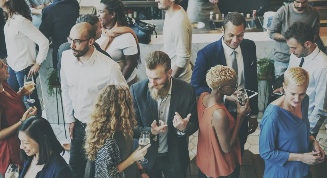 How to get better at small talk so you can survive networking