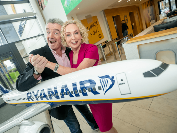 Ryanair announces new infrastructure partnership with Vodafone Business