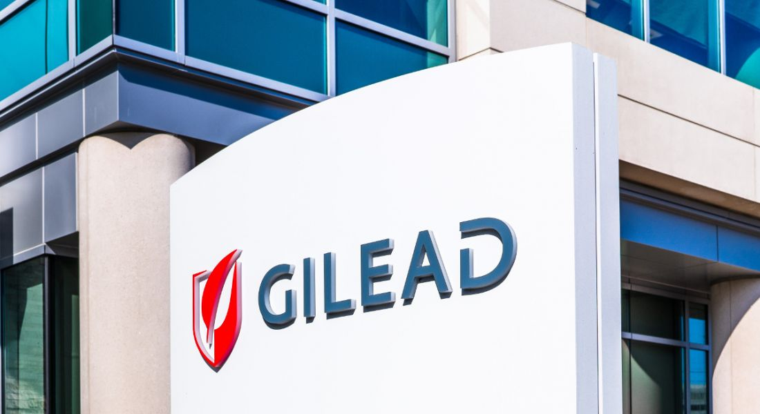 Gilead sign at its headquarters in Silicon Valley.