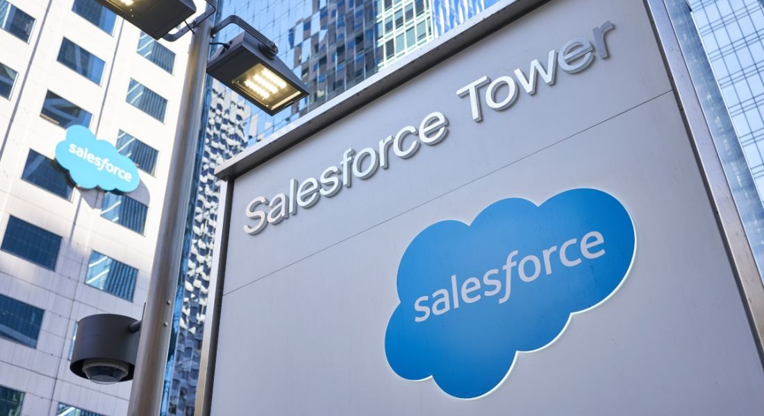 Photo of Salesforce Tower in San Francisco, California.