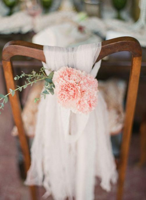 Lace chair cover