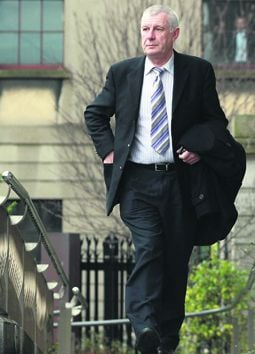 Retired garda Jim Fitzgerald gave evidence in the High Court this week. (Photo: Courts Collins)