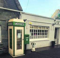 Rathbarry phone box: providing a vital service in an area with poor phone reception