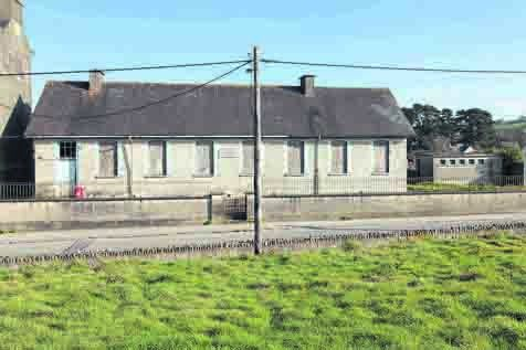 Scoil Naomh Fionntain NS, now closed, where Graham went to primary school, in Bandon