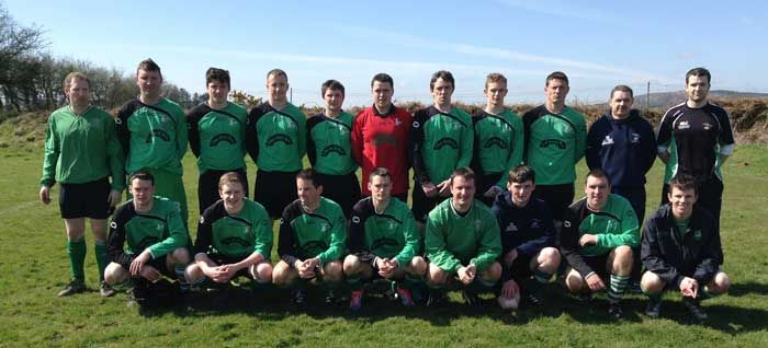 The Togher Celtic squad that lost 3-2 to Dunmanway Town in the West Cork League mygaff.ie Cup semi-final at Canon Crowley Park on Easter Sunday.