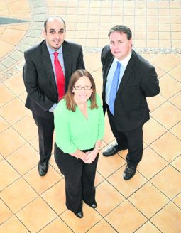 At the All About the Tax CPA Ireland tax conference in Cork were speakers Paul Gosal (Buckley Kiely), Nicola Quinn (PwC) and Cormac Fitzgerald, CPA president