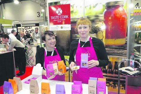 Siobhan and Mella McAuley of Mellas Fudge in Clonakilty.