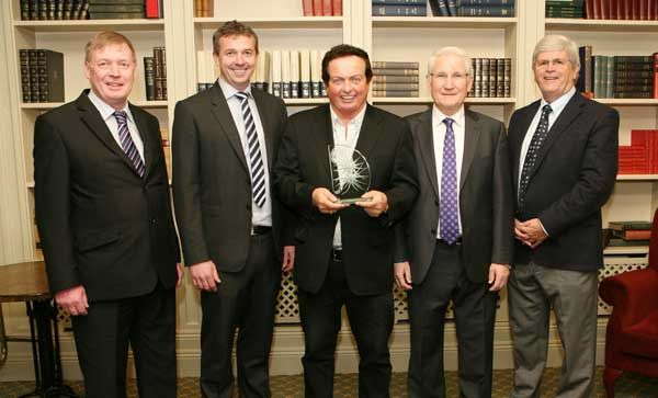 Marty Morrissey was presented with the April Cork Person of the Month award.