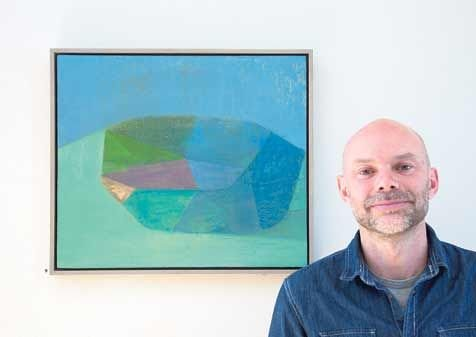 Tom Climent, with some of the work which will be on show at Liss Ard Country House in Skibbereen.