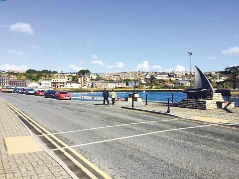 Kinsale: parking is seen as expensive.