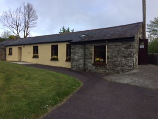 The pretty polling station at Caheragh, near Skibbereen, this morning