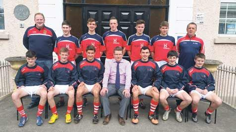 Cork Development Squad members who attend St Fachtnas De La Salle Secondary School in Skibbereen