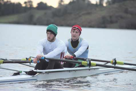Making a splash: Skibbereen brothers Gary and Paul ODonovan will compete together in the Irish lightweight double at the European Rowing Championships this weekend.