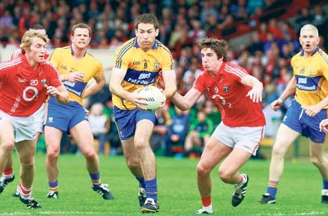 Follow my lead: Clare captain Gary Brennan was man of the match in the last Munster semi-final meeting between Clare and Cork back in 2013.