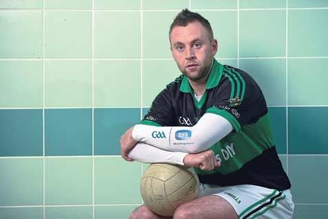 Familiar face: Paul Kerrigans fellow Nemo Rangers clubman Ephie Fitzgerald is coach of the Clare football team.