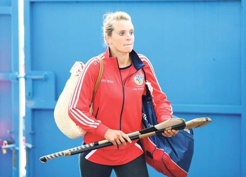 Leadership: Briege Corkery will be one of the driving forces on the Cork camogie team in their championship campaign.