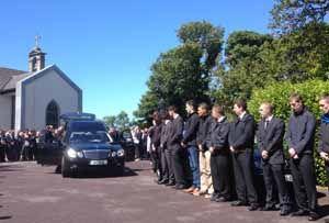 Barry Ryan funeral
