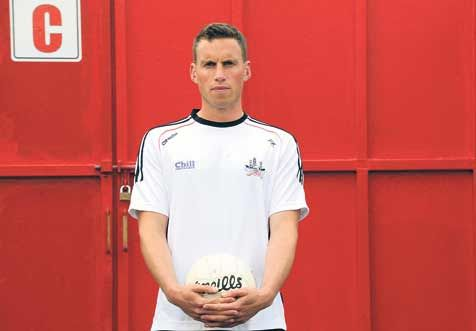 Ready and waiting: Cork footballer Paddy Kelly cant wait for Saturday nights Munster SFC final replay against Kerry in