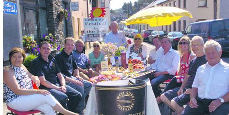 Union Hall festival organisers are hoping that the sun will shine again for this years