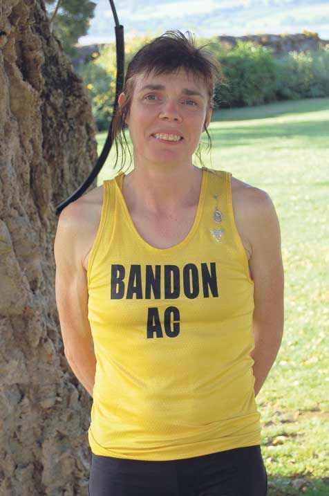 On the big stage: Bandons Carmel Crowley will compete at the World Masters Track and Field Championships in Lyon, France next week.