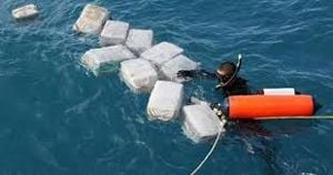 Some of the drugs found in the sea.