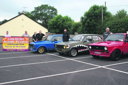 MAKING THEIR MARK: The annual festival in Coachford will pay tribute to the Mark II Ford Escort, which is 40 this year