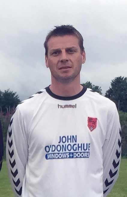 Bryan Regan is an integral part of the Bunratty United squad that reached the West Cork Masters Shield final against Castlelack earlier this week