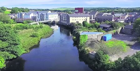 There is stunning drone footage of the Ilens course on the new video which was produced by Donna McCarthy