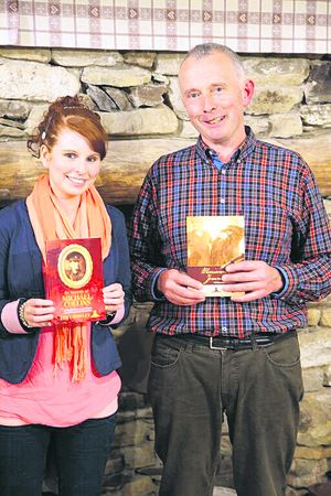 Tim Crowley, author with Clíodhna OLeary, editor of In Search Of Michael Collins.