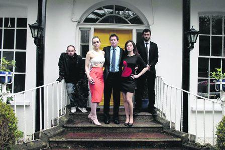 Macra Girls crime family, from left: Michael Linehan; Ann Gries; Denis Keily; Rebecca Munnelly, and Senan Byrne.