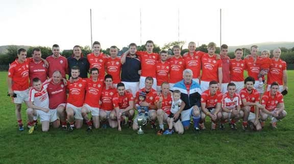 Champions: The Urhan team that defeated Glengarriff in the Beara junior A football championship final last Saturday evening.