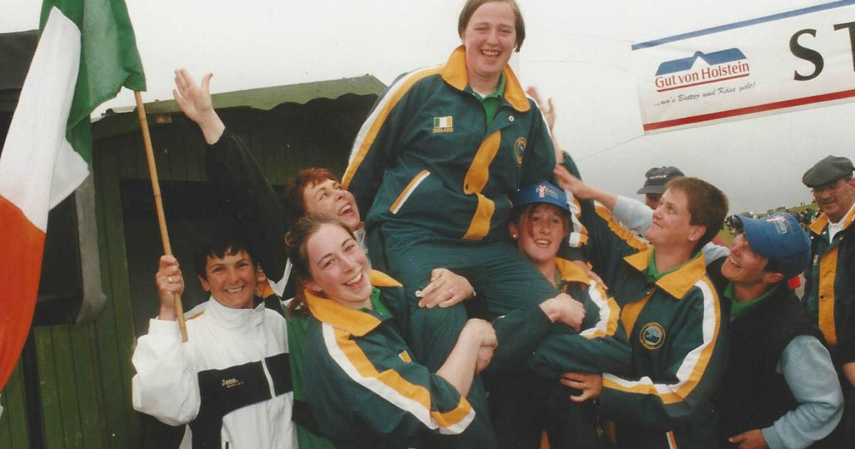 teenage sensation sharon o driscoll caused a stir when she burst on the road bowling scene.