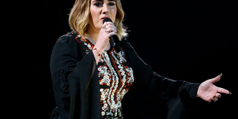 Watch: Mosquito Disrupts Adele...