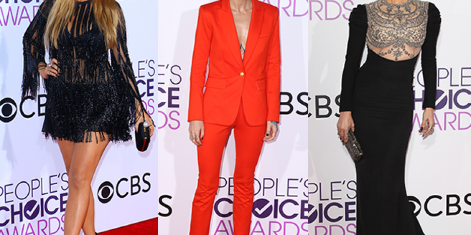 People's Choice Awards Red...