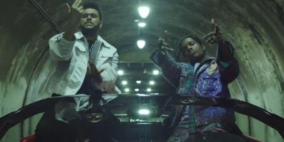 WATCH: Drake & A$AP Rocky In T...