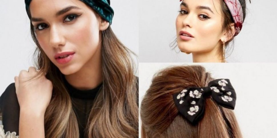 Big Hair Accessories Are Back...