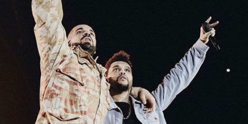 WATCH: The Weeknd Brought Drak...