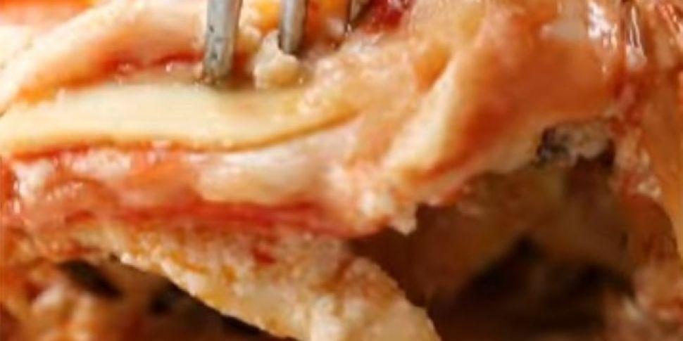 RECIPE: Pizza Lasagne