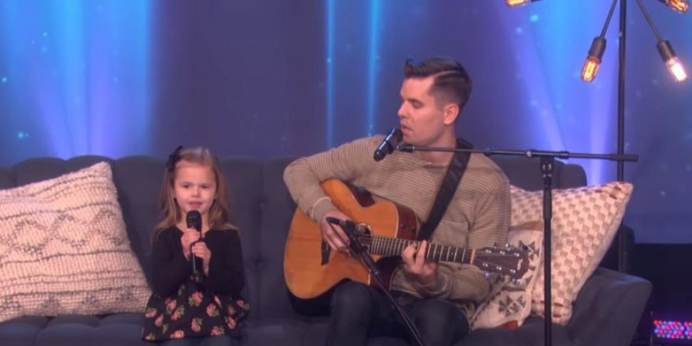 WATCH: Father & Daughter Duo P...