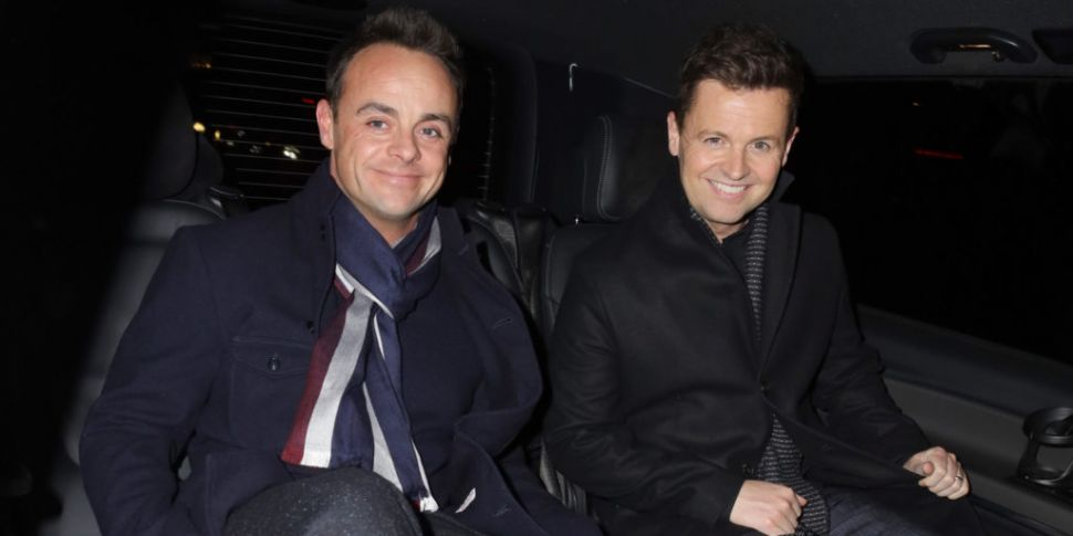 Ant And Dec Confirmed To Reuni...