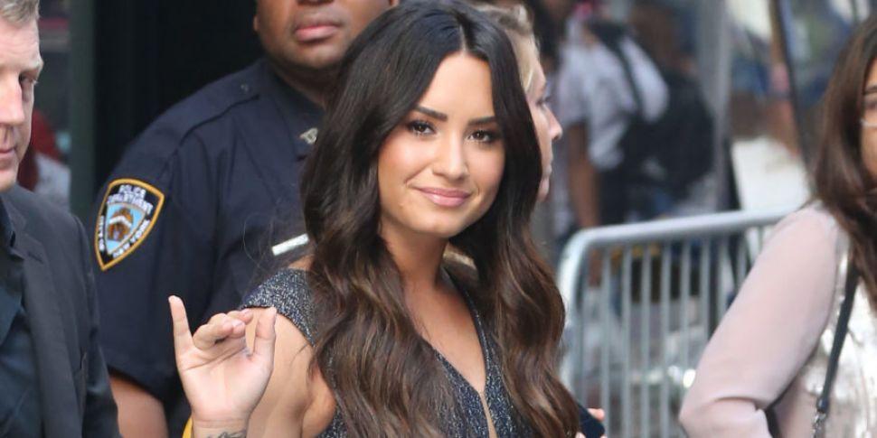 Demi Lovato Thanks Friends Who...