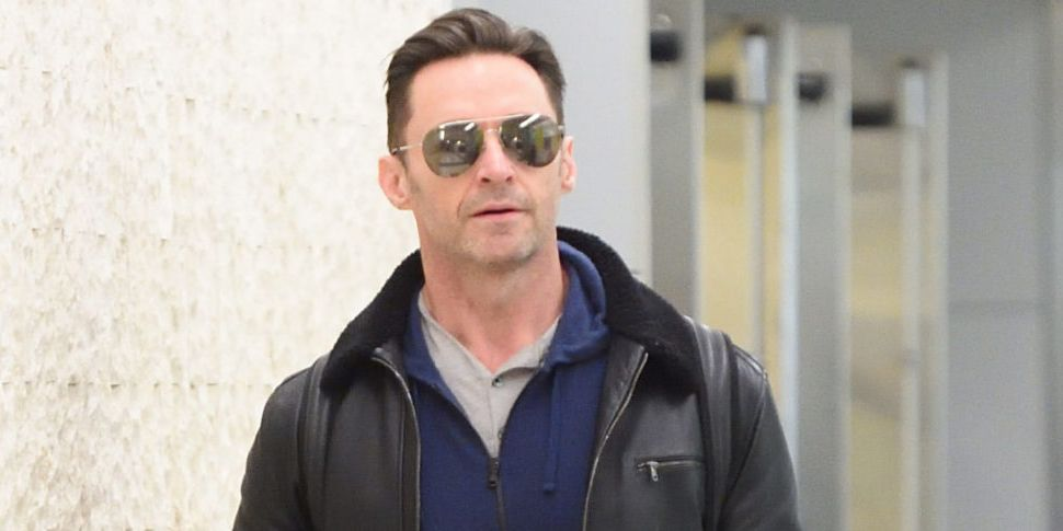 Hugh Jackman Has Landed In Dub...