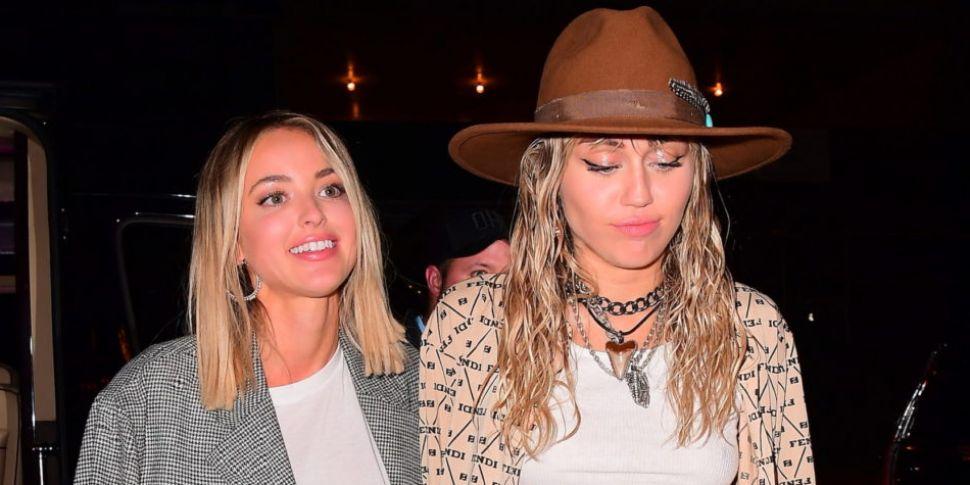 Miley Cyrus And Kaitlynn Carte...