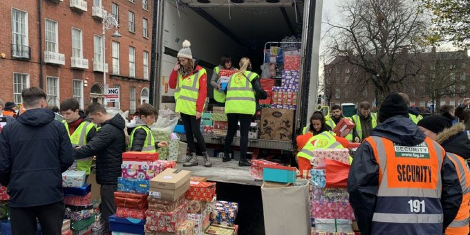 Christmas Truck Loaded With Pr...