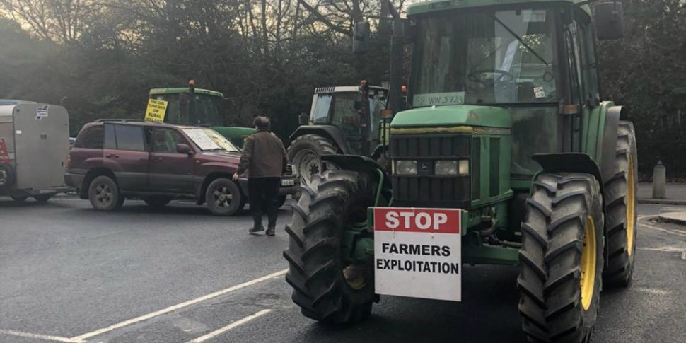 Beef Farmers Protesting In Dub...