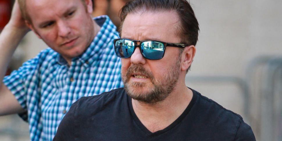 Ricky Gervais Slams Roman Kemp...