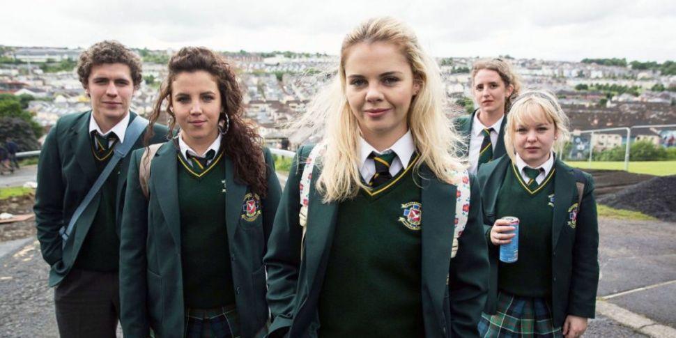 WATCH: Derry Girls Stars Get I...