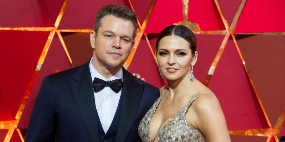 Matt Damon & His Family Have R...