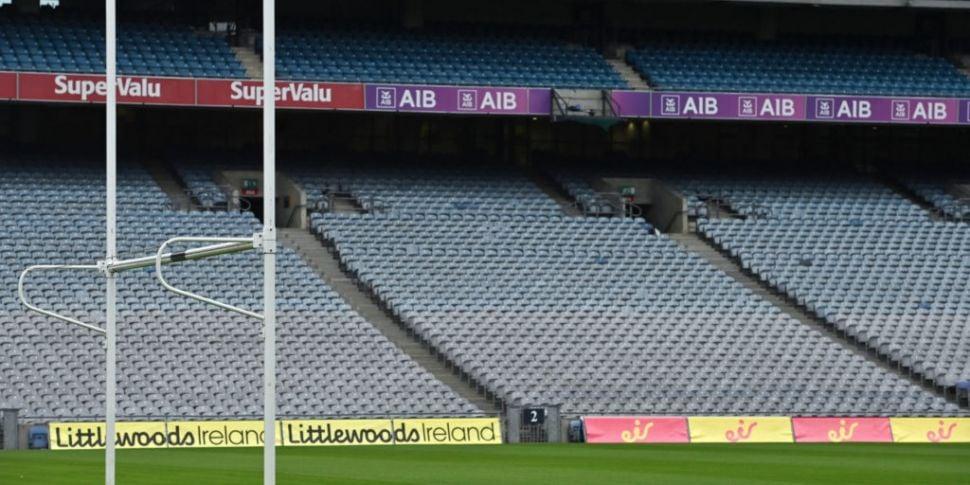 GAA suspends all club games wi...
